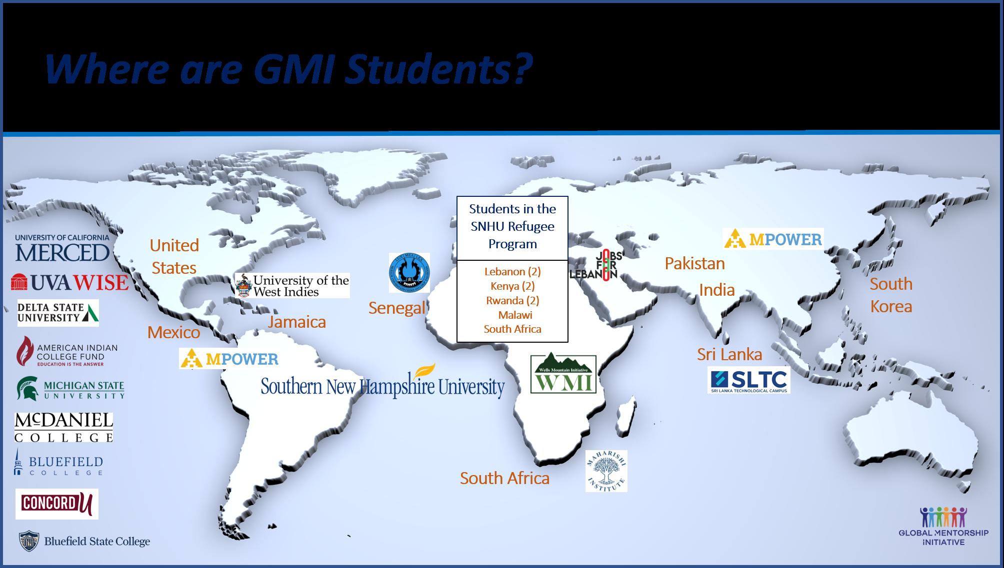 GMI Map
