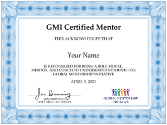Mentor Certification